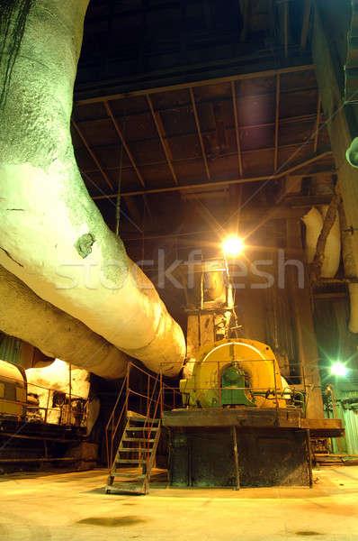 Industrial interior Stock photo © artfotoss
