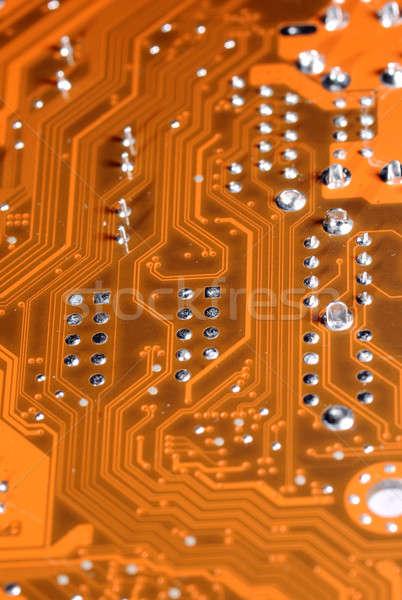 Lasca componente computador unidade projeto energia Foto stock © artfotoss