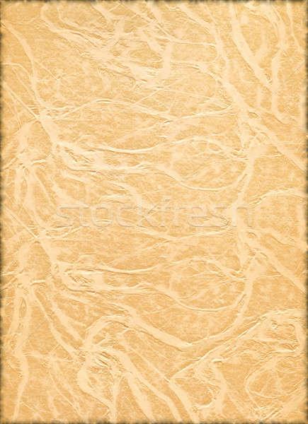 Pergaminho papel velho textura vintage papel abstrato Foto stock © Artida