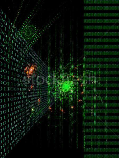 связи интернет двоичный код данные компьютер Сток-фото © Artida