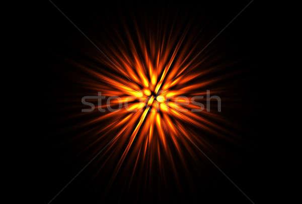 красный огненный красный свет вихревой аннотация Сток-фото © Artida