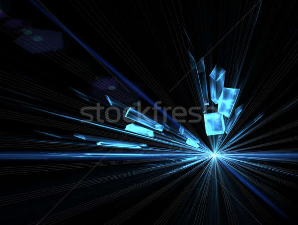 explosion, blast Stock photo © Artida