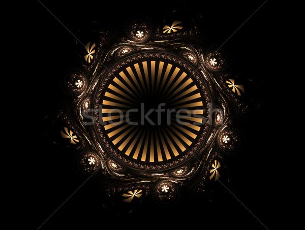 Süs soyut altın örnek yüksek Stok fotoğraf © Artida
