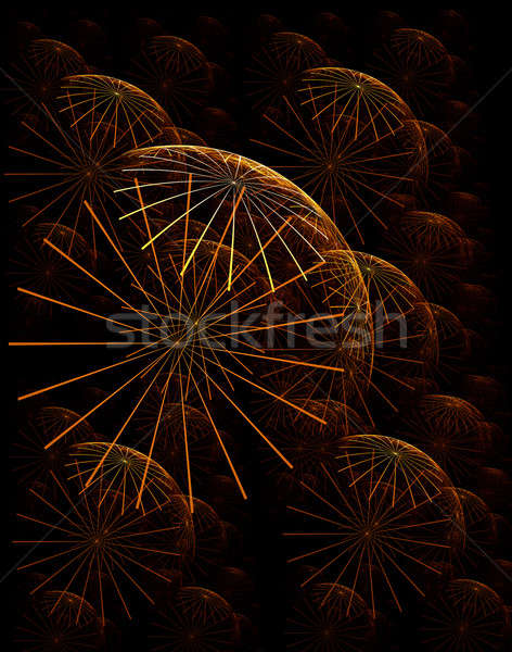 Arka soyut örnek karahindiba Stok fotoğraf © Artida