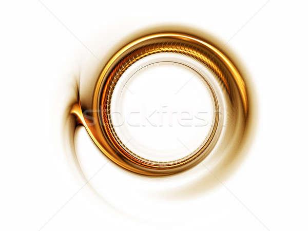 Altın hareket beyaz ışık Stok fotoğraf © Artida