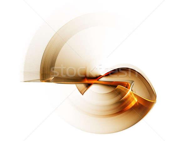 Dinamik altın hareket doğrusal mecaz Stok fotoğraf © Artida