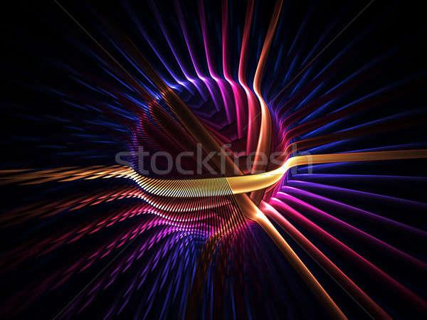 colorful energy globe Stock photo © Artida