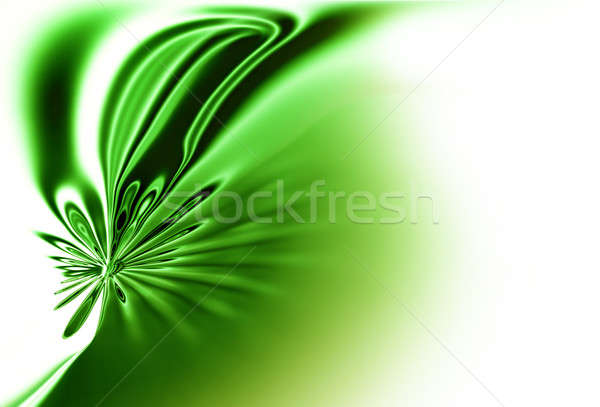 green spring ,dynamic green motion, abstract background  Stock photo © Artida