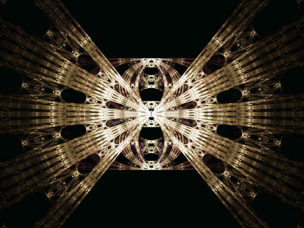 металлический аннотация иллюстрация текстуры металл Сток-фото © Artida