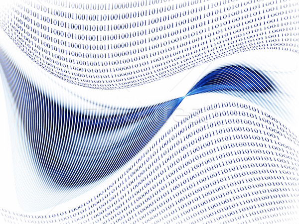 связи интернет двоичный код данные бизнеса Сток-фото © Artida