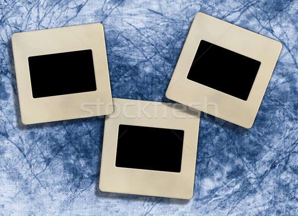 3  ヴィンテージ スライド 写真 フレーム レトロな ストックフォト © Artida