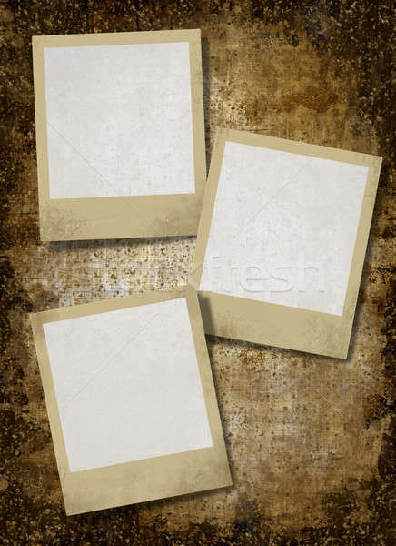vintage instant photo frames   Stock photo © Artida