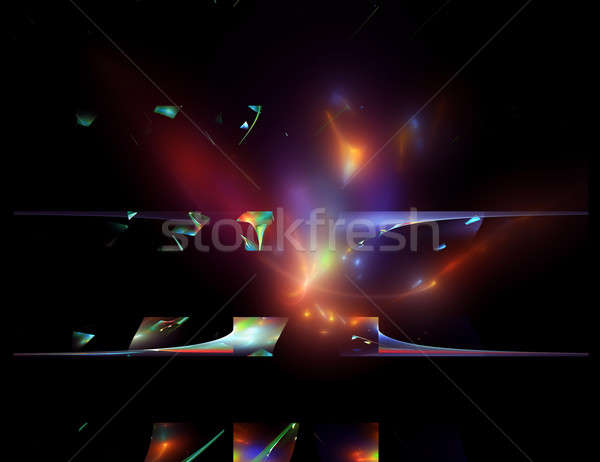 blast, supernova Stock photo © Artida