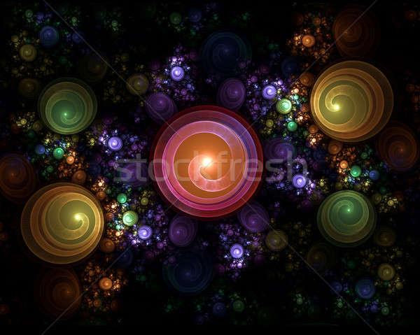 カラフル 抽象的な 高い 詳細 幸せ ストックフォト © Artida