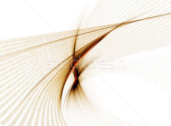 Código binário dados internet comunicação computador Foto stock © Artida