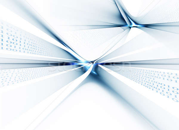 двоичный код данные связи интернет компьютер Сток-фото © Artida