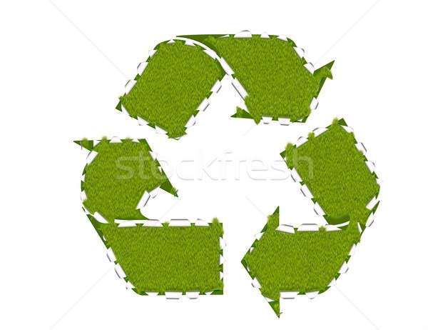 Recycling breakthrough Stock photo © Artida