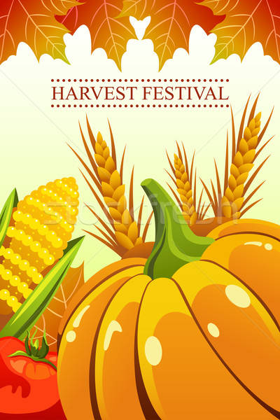 Harvest Festival Background Stock photo © artisticco