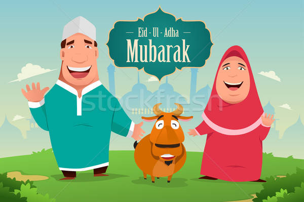 Eid-Ul-Adha Mubarak Stock photo © artisticco
