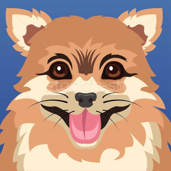 Dog Animal Poster Stock photo © artisticco