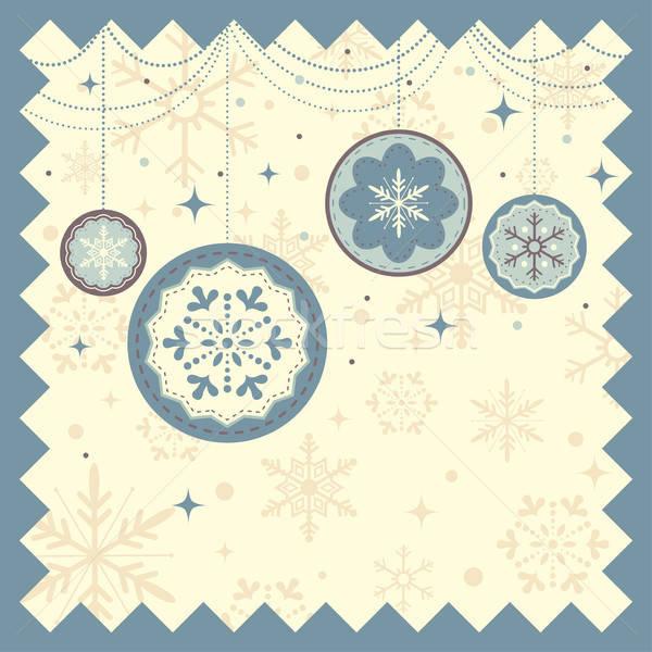 Winter Christmas background Stock photo © artisticco