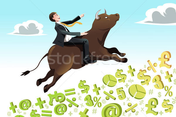 Bull market Stock photo © artisticco
