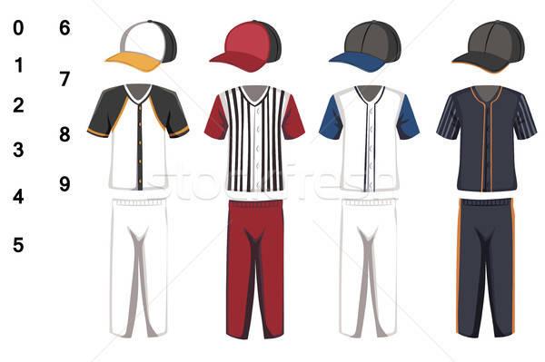 Baseball jersey Stock photo © artisticco