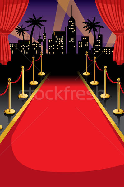 Red carpet  Stock photo © artisticco
