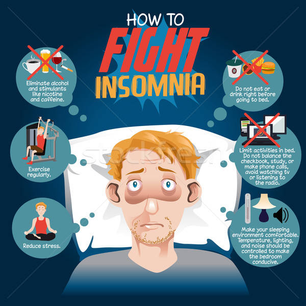 How to Fight Insomnia Stock photo © artisticco