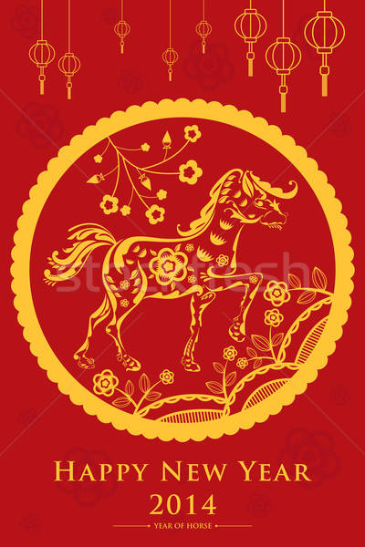 Chinese New Year design Stock photo © artisticco