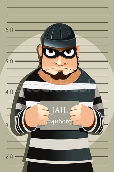 犯罪者 マグ ショット 法 正義 肖像 ストックフォト © artisticco
