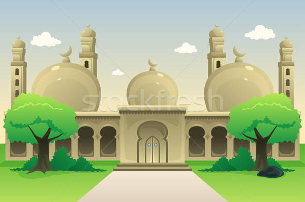 Islamic Mosque During Daytime Stock photo © artisticco