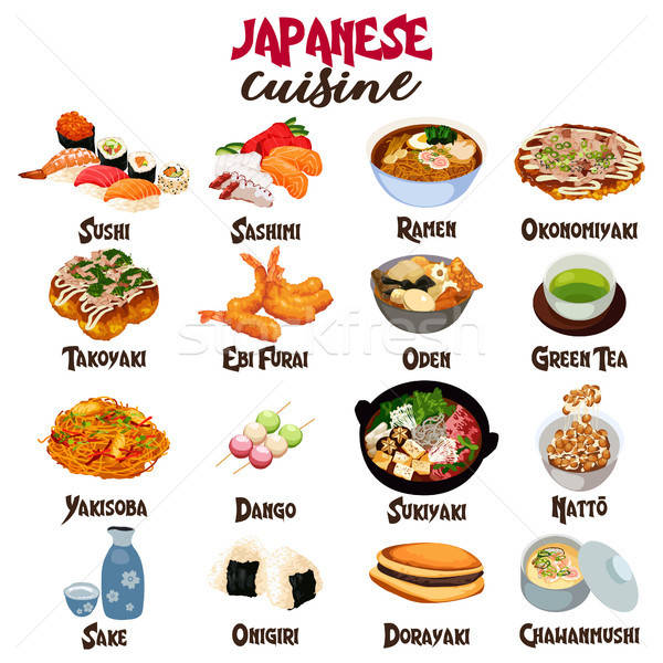 Stock photo: Japanese Food Cuisine