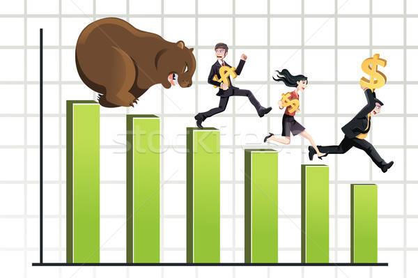 Bear market Stock photo © artisticco