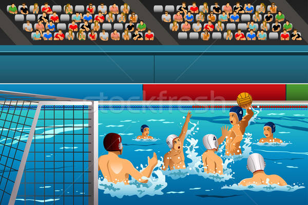 Water polo competition Stock photo © artisticco