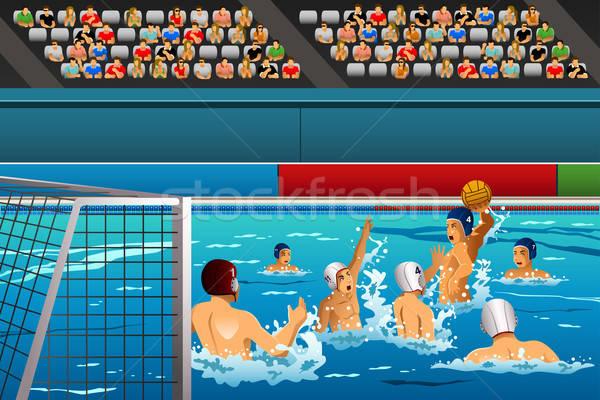 Sutopu rekabet maç spor havuz Stok fotoğraf © artisticco