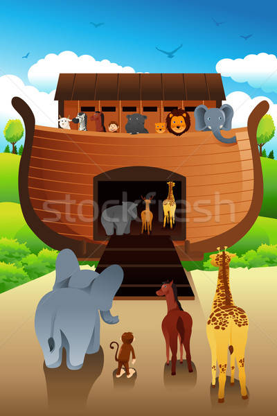 Stock photo: Noahs ark