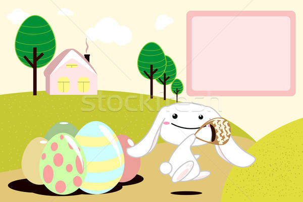 Easter bunny Stock photo © artisticco