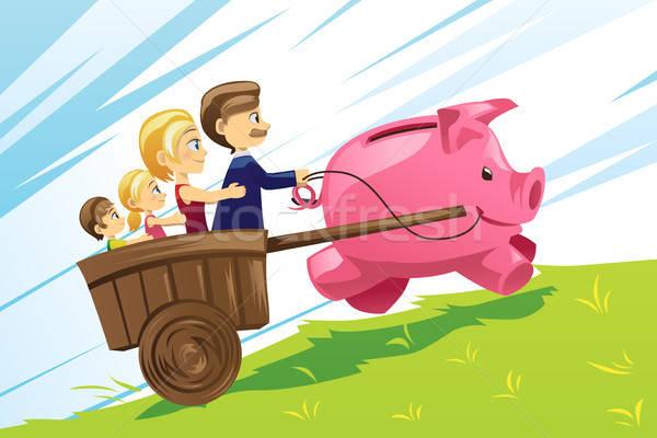 Family financial concept Stock photo © artisticco