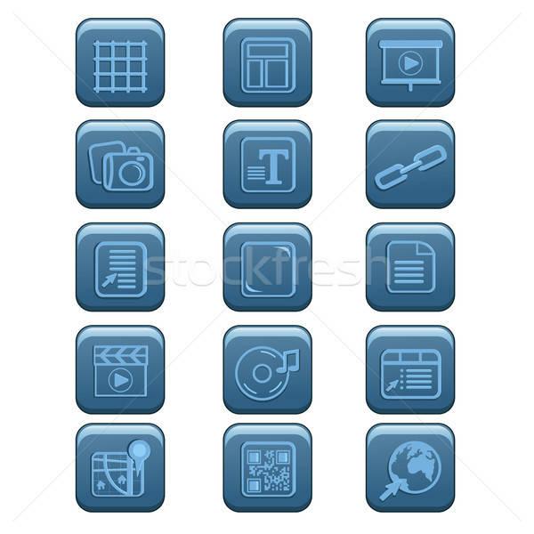 Website icons Stock photo © artisticco