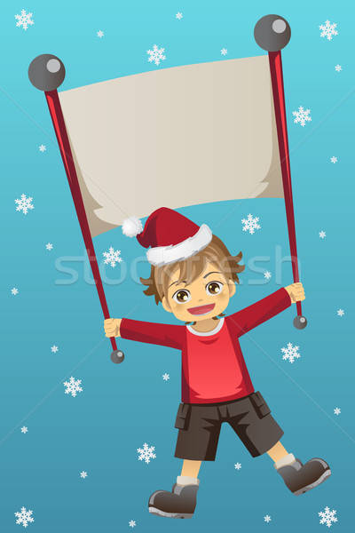 Christmas kid  Stock photo © artisticco