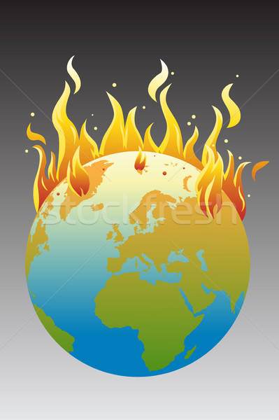 Global warming concept Stock photo © artisticco