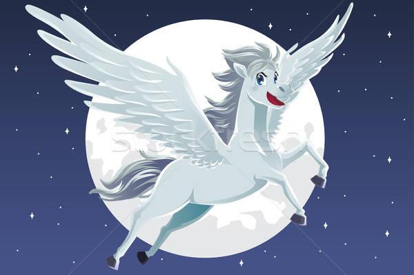 Pegasus Stock photo © artisticco