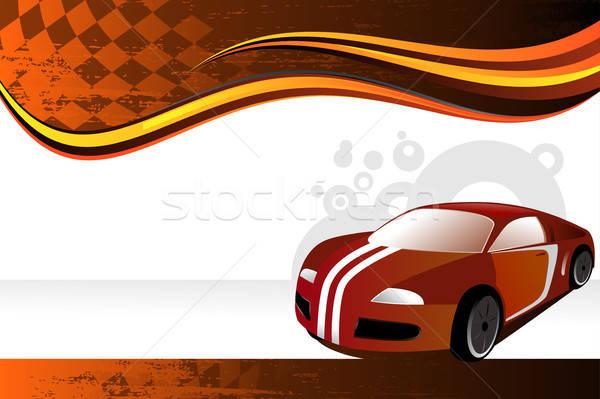 Automobil · Banner · Auto · Motor · auto · Förderung - vektor ...