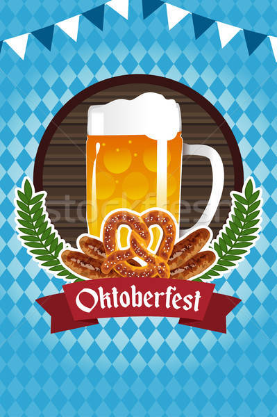 Oktoberfest Poster Stock photo © artisticco