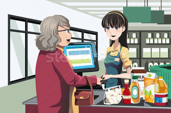 Grocery shopping Stock photo © artisticco