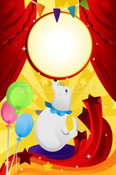 Circus theme Stock photo © artisticco
