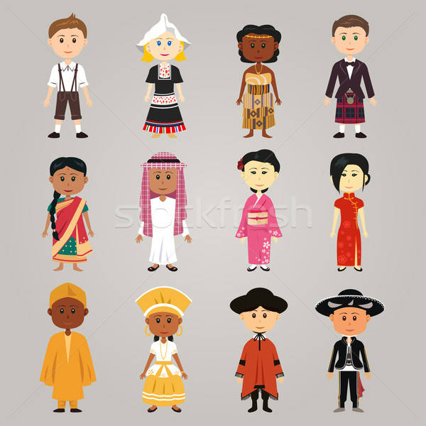 Different ethnic people Stock photo © artisticco