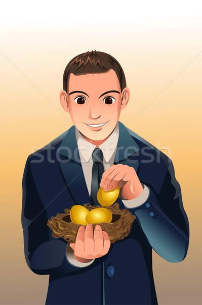 Business financial savings Stock photo © artisticco