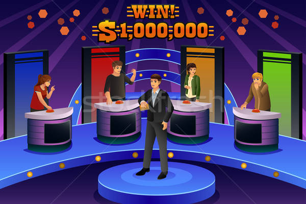 People on Game Show Stock photo © artisticco